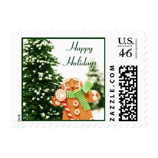 Gingerbread Holiday Postage