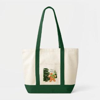Gingerbread Holiday Tote Bag