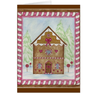 Gingerbread House 1 Card