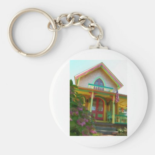 Gingerbread house 26 key chains