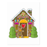 Gingerbread House and Man Post Cards