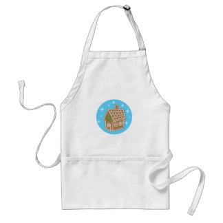 Gingerbread House Aprons