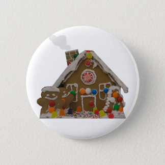 Gingerbread House Button