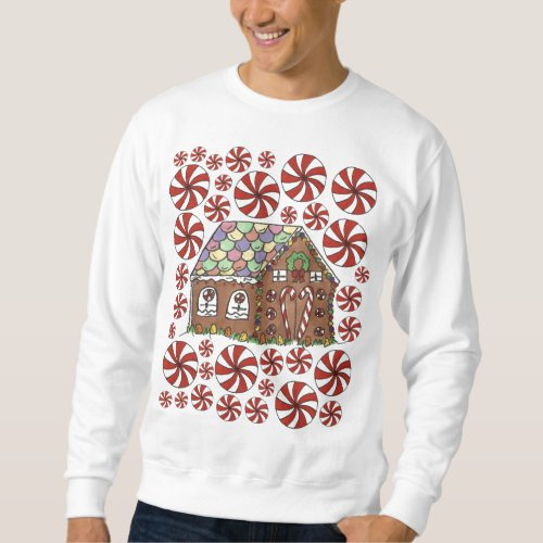 Gingerbread House Ugly Christmas Sweater