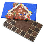 Gingerbread House Chocolate Boxes 45 Piece Assorted Chocolate Box