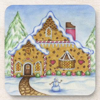Gingerbread House Coasters
