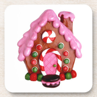 Gingerbread House Drink Coaster
