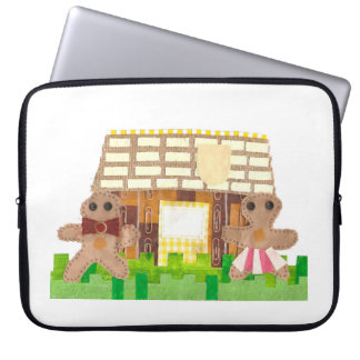 Gingerbread House Couple 15 Inch Laptop Sleeve