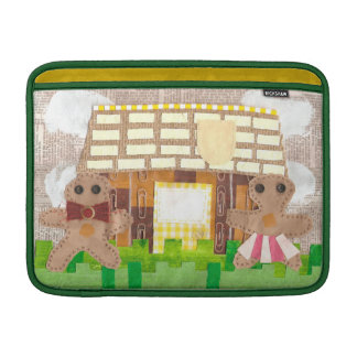 Gingerbread House Couple Macbook Air Sleeve