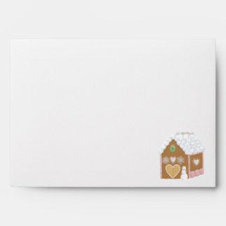 Gingerbread House Envelope