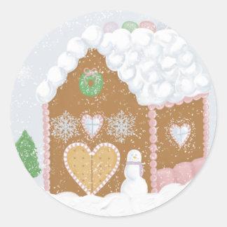Gingerbread House Envelope Seals