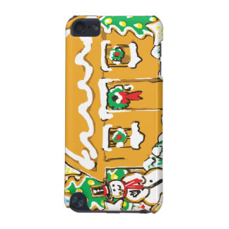 Gingerbread House Frosted Cookies Christmas Scene iPod Touch (5th Generation) Case