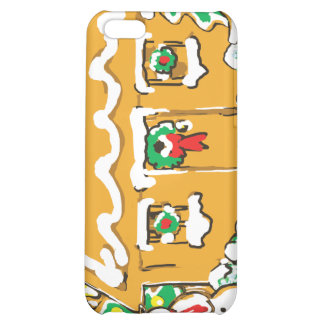 Gingerbread House Frosted Cookies Christmas Scene iPhone 5C Covers