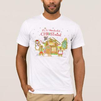 Gingerbread House Guys T-shirt