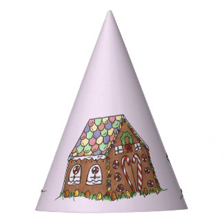 Gingerbread House Home Sweet Home Christmas Xmas Party Hat