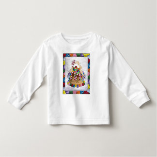 Gingerbread House in Stained Glass Toddler T-shirt