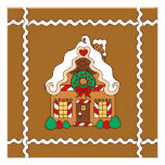 Gingerbread House Invitations