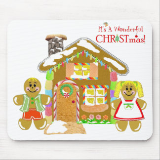 Gingerbread House Mousepad