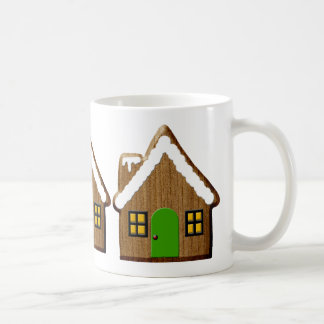 Gingerbread House Classic White Coffee Mug