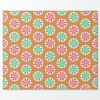 Peppermint Candy Wrapping Paper | Zazzle
