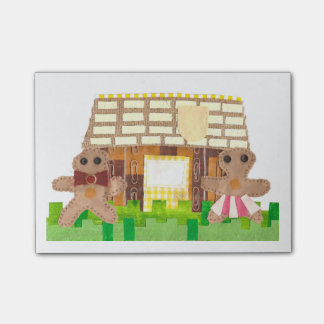 Gingerbread House Post-It Notes