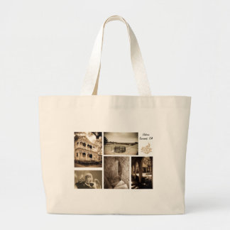 Gingerbread House - Savannah, GA Large Tote Bag