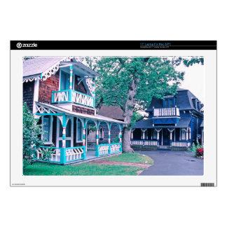"""Gingerbread Houses Tom Wurl Skins For 17"""" Laptops"""