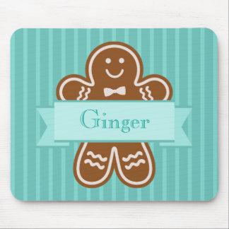 Gingerbread Hugs Mouse Pad