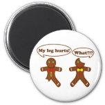 Gingerbread Humor Fridge Magnets