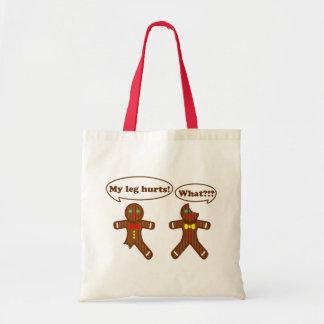 Gingerbread Humor Tote Bag