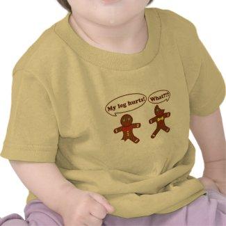 Gingerbread Humor shirt