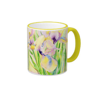 Gingerbread Iris Mug