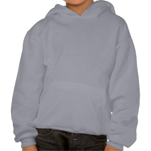 GINGERBREAD KIDS AND LOLLIPOPS by SHARON SHARPE Hooded Sweatshirt