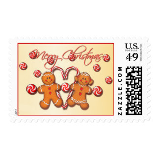 GINGERBREAD KIDS by SHARON SHARPE Postage