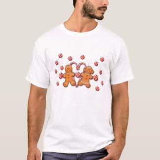 GINGERBREAD KIDS by SHARON SHARPE T-Shirt