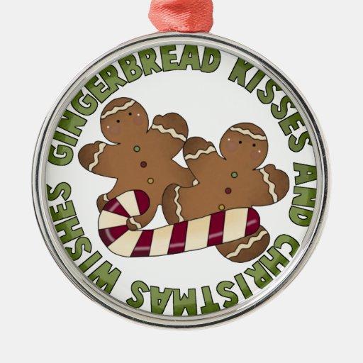 Gingerbread Kisses Keepsake Ornament