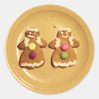 Gingerbread Lesbians Sticker