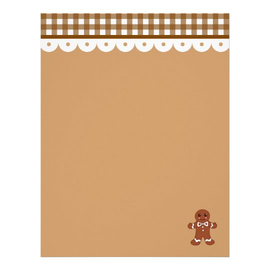Gingerbread Letterhead