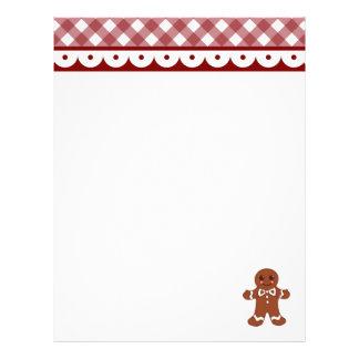 Gingerbread Letterhead