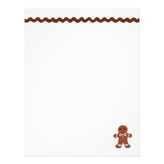 Gingerbread Letterhead Paper