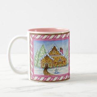 Gingerbread Lodge mug mug