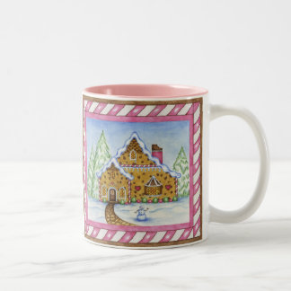 Gingerbread Lodge mug