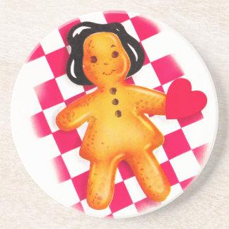 Gingerbread Love Coaster
