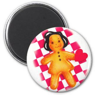 Gingerbread Love Magnet