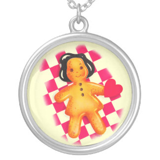 Gingerbread Love Necklace