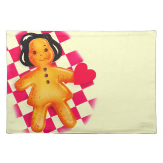 Gingerbread Love Placemat