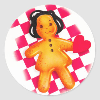 Gingerbread Love Stickers
