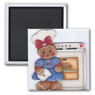 Gingerbread Lovin from the Oven Kitchen Magnet