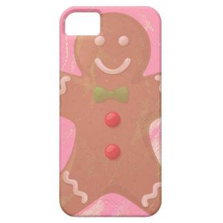 Gingerbread Man Art iPhone4 Case