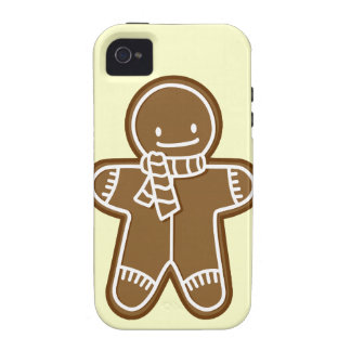 Gingerbread man Bag Case For The iPhone 4